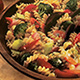 Vegetable pasta salad perfect dish for summer's party